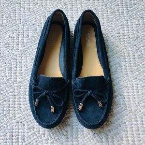 Michael Kors Navy Loafers